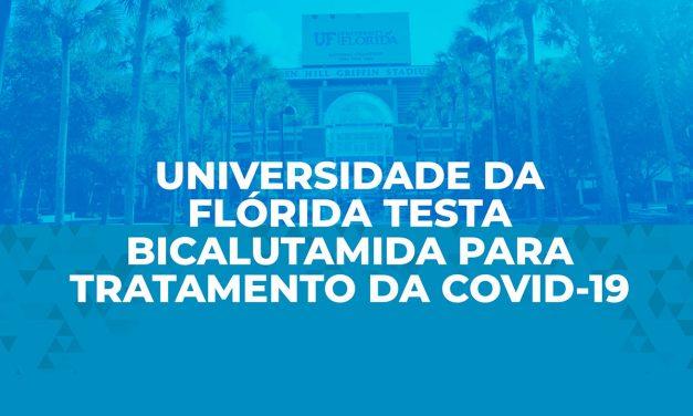 Universidade da Flórida testa Bicalutamida para tratamento da Covid-19