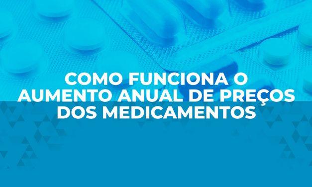 Aumento de preço dos medicamentos em 2021